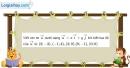 Bài 1.37 trang 41 SBT hình học 10