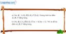 Bài 1.40 trang 42 SBT hình học 10