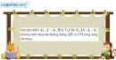Bài 1.41 trang 42 SBT hình học 10