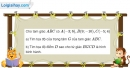 Bài 1.45 trang 42 SBT hình học 10