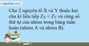 Bài 22.15 trang 54 SBT Hóa học 10