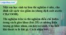 Bài 33.4 Trang 47 SBT hóa học 8