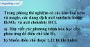 Bài 33.5* Trang 47 SBT hóa học 8