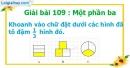 Bài 109 : Một phần ba