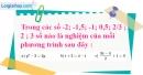 Bài 1 trang 5 SBT toán 8 tập 2