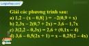 Bài 19 trang 7 SBT toán 8 tập 2