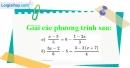 Bài 20 trang 8 SBT toán 8 tập 2