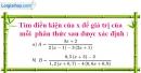 Bài 21 trang 8 SBT toán 8 tập 2