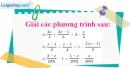 Bài 25 trang 9 SBT toán 8 tập 2