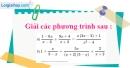 Bài 40 trang 12 SBT toán 8 tập 2