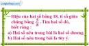 Bài 46 trang 14 SBT toán 8 tập 2