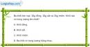Bài 8.9 trang 30 SBT Vật lí 6