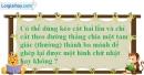 Bài 3.1 phần bài tập bổ sung trang 160 SBT toán 8 tập 1