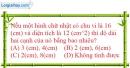 Bài II.11 phần bài tập bổ sung trang 169 SBT toán 8 tập 1