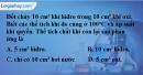 Bài 36.11 Trang 50 SBT hóa học 8