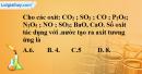 Bài 36.2 Trang 49 SBT hóa học 8