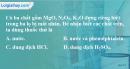 Bài 36.3 Trang 49 SBT hóa học 8