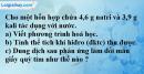 Bài 36.6 Trang 49 SBT hóa học 8