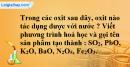 Bài 37.12 Trang 51 SBT hóa học 8