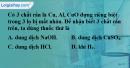 Bài 37.3 Trang 50 SBT hóa học 8