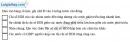 Câu 9 trang 8 SBT địa 11