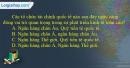 Câu 6 trang 11 SBT địa 11
