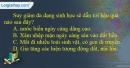 Câu 10 trang 15 SBT địa 11
