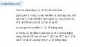 Bài 2.8 trang 64 SBT hình học 11