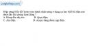 Bài 8.1, 8.2, 8.3, 8.4, 8.5, 8.6 trang 22, 23 SBT Vật Lí 11