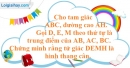 Bài 119 trang 94 SBT toán 8 tập 1