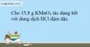 Bài 23.7 trang 55 SBT Hóa học 10