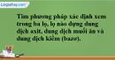 Bài 37.20 Trang 52 SBT hóa học 8