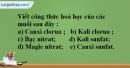 Bài 38.10 Trang 53 SBT hóa học 8