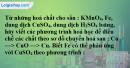 Bài 38.3 Trang 53 SBT hóa học 8