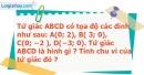 Bài 135 trang 97 SBT Toán 8 tập 1