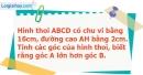Bài 139 trang 97 SBT Toán 8 tập 1