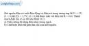 Bài 10.6 trang 27 SBT Vật Lí 11