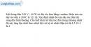 Bài 13.6 trang 33 SBT Vật Lí 11