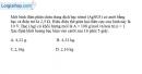 Bài 14.5 trang 35 SBT Vật Lí 11