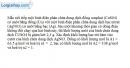 Bài 14.6 trang 35 SBT Vật Lí 11