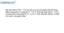 Bài 9.8 trang 25 SBT Vật Lí 11