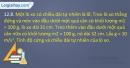 Bài 12.8, 12.9, 12.10, 12.11 trang 31,32 SBT Vật lí 10