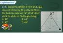 Bài 14.5, 14.6, 14.7, 14.8 trang 34,35 SBT Vật lí 10