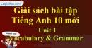 Vocabulary & Grammar - trang 6 Unit 1 SBT Tiếng anh 10 mới