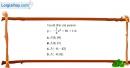 Bài 2.23 trang 42 SBT đại số 10
