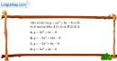 Bài 2.25 trang 42 SBT đại số 10
