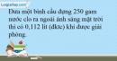 Bài 24.8 trang 58 SBT Hóa học 10