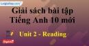 Reading - Unit 2 SBT Tiếng anh 10 mới