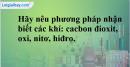 Bài 38.14 Trang 54 SBT hóa học 8