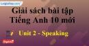 Speaking - trang 18 Unit 2 SBT Tiếng anh 10 mới